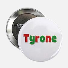 Tyrone Christmas Button
