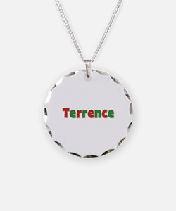 Terrence Christmas Necklace Circle Charm