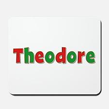 Theodore Christmas Mousepad