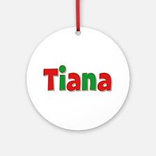 Tiana Christmas Round Ornament