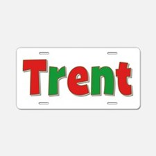 Trent Christmas Aluminum License Plate