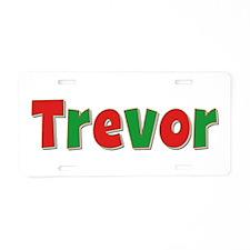 Trevor Christmas Aluminum License Plate