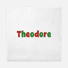 Theodore Christmas Queen Duvet