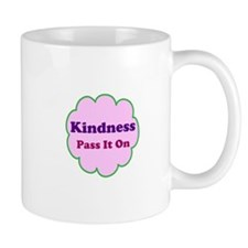 Pink Kindness Pass It On Mug