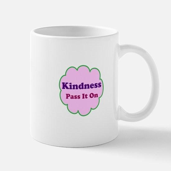 Pink Kindness Pass It On Mug