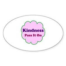Pink Kindness Pass It On Decal