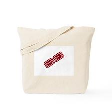Admit One Ticket Stub Tote Bag