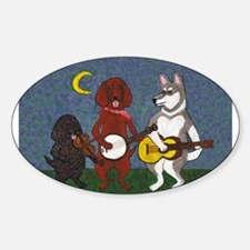 Country Music Dogs Decal
