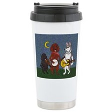 Country Music Dogs Travel Mug