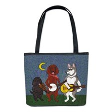 Country Music Dogs Bucket Bag