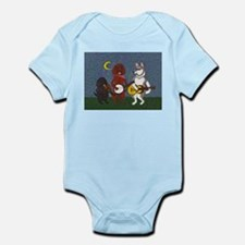 Country Music Dogs Infant Bodysuit