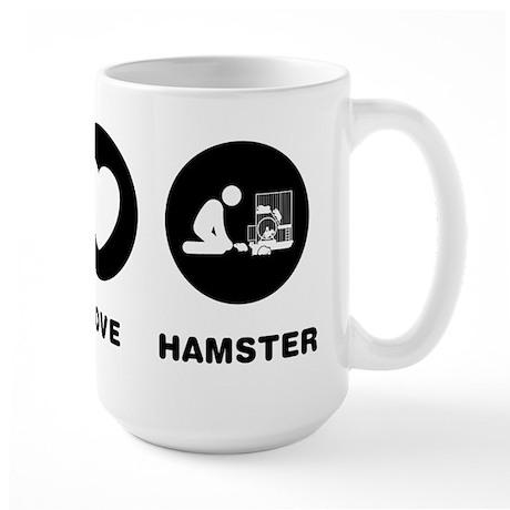 Hamster Lover Large Mug