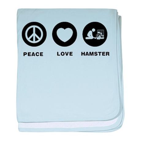 Hamster Lover baby blanket
