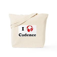 Cadence music Tote Bag