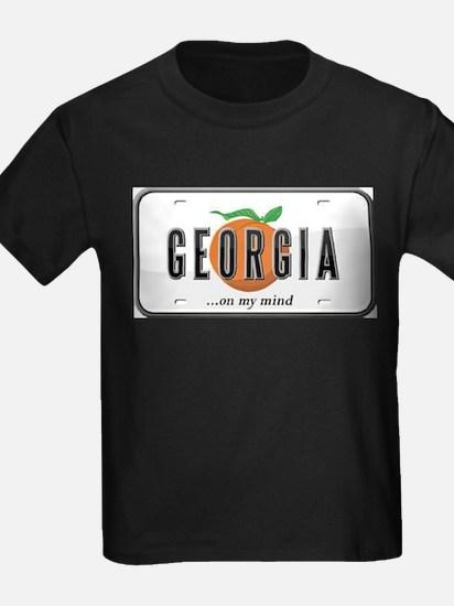 Georgia Plate T