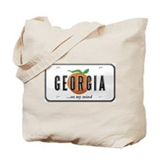 Georgia Plate Tote Bag