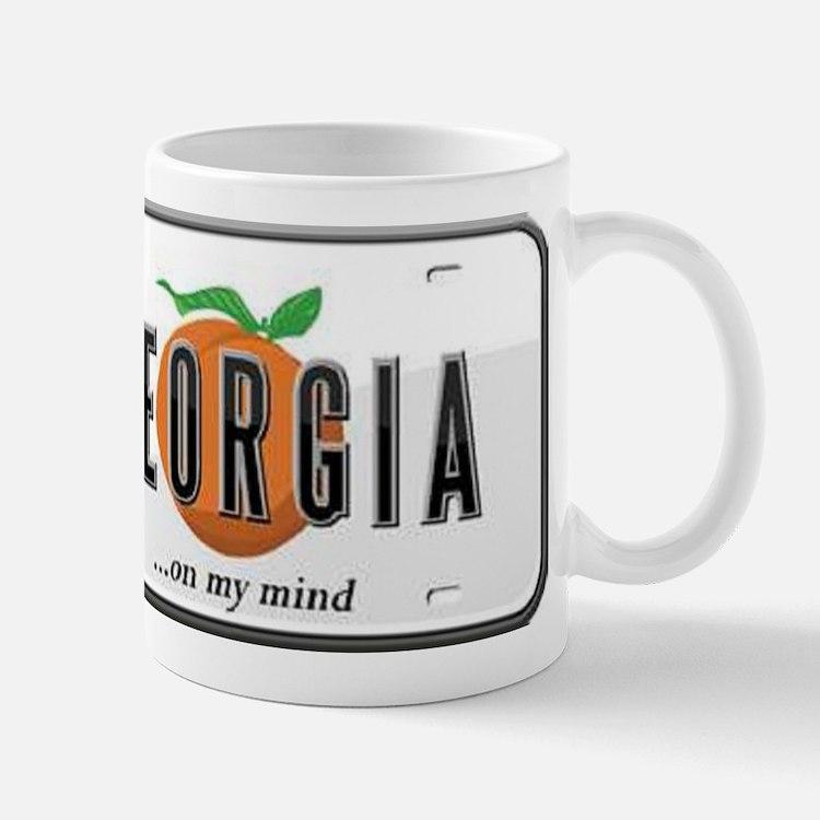 Georgia Plate Mug