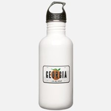 Georgia Plate Water Bottle