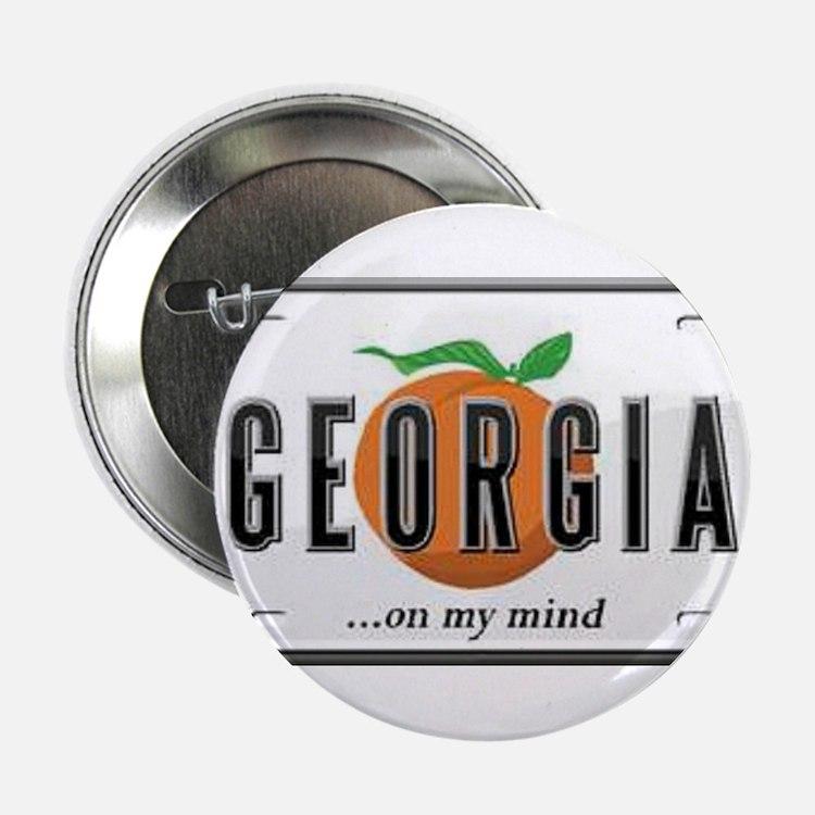 "Georgia Plate 2.25"" Button"