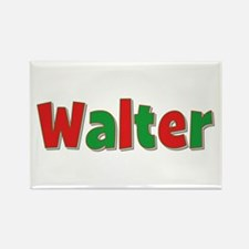 Walter Christmas Rectangle Magnet