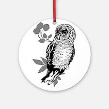 OYOOS Owl design Ornament (Round)