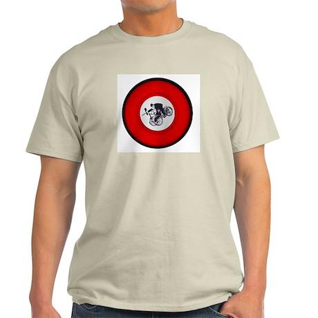 Pedalling Machine Gunner Grey T-Shirt