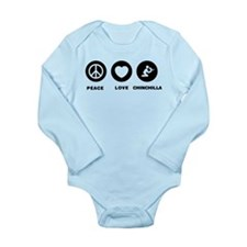 Chinchilla Lover Long Sleeve Infant Bodysuit