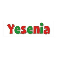 Yesenia Christmas 36x11 Wall Peel