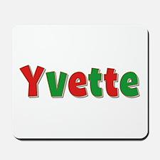 Yvette Christmas Mousepad