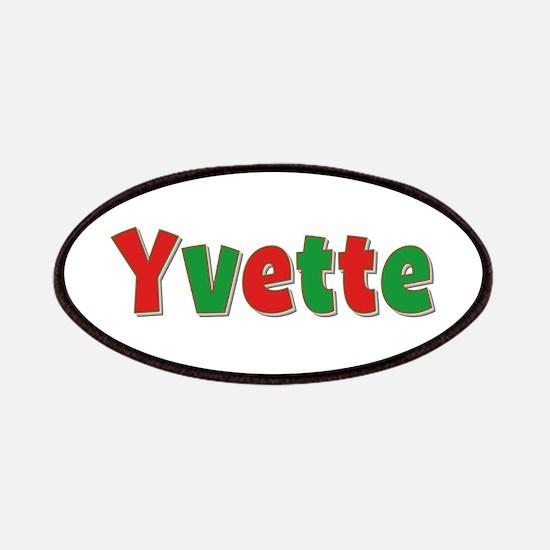 Yvette Christmas Patch