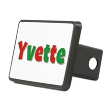 Yvette Christmas Hitch Cover