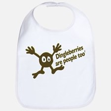 Dingleberries Are People Too! Bib