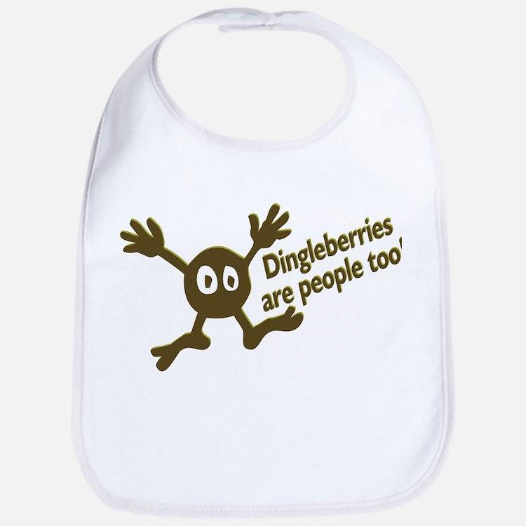 Dingleberries Are People Too! Bib