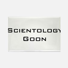 Scientology Goon Rectangle Magnet (10 pack)