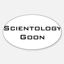 Scientology Goon Oval Decal