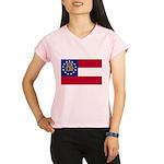 Flag of Georgia Performance Dry T-Shirt