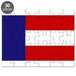 Flag of Georgia 1879-1902 Puzzle