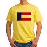 Flag of Georgia 1879-1902 Yellow T-Shirt