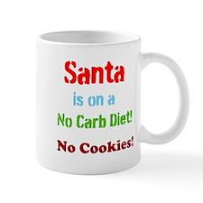 Santa on No Carb Diet Mug