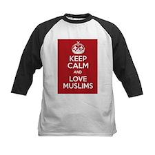 keep calm and love Muslims Tee