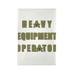 Equipment operator Masons Rectangle Magnet