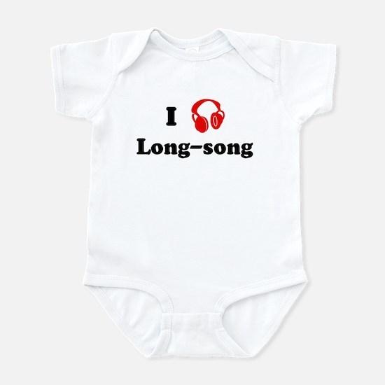 Long-song music Infant Bodysuit