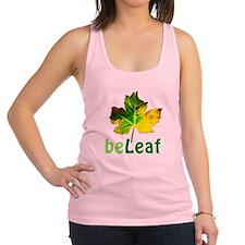 Funny Maple leafs Racerback Tank Top