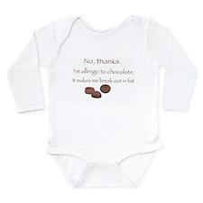Chocolate! Long Sleeve Infant Bodysuit
