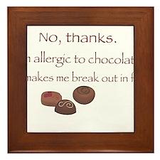 Chocolate! Framed Tile