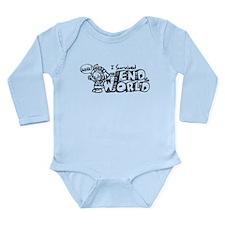 Survived the End 2012 Long Sleeve Infant Bodysuit