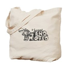 Survived the End 2012 Tote Bag