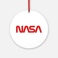 NASA Spider Logo Ornament (Round)