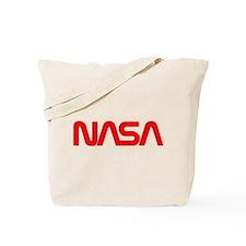 NASA Spider Logo Tote Bag