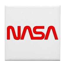 NASA Spider Logo Tile Coaster